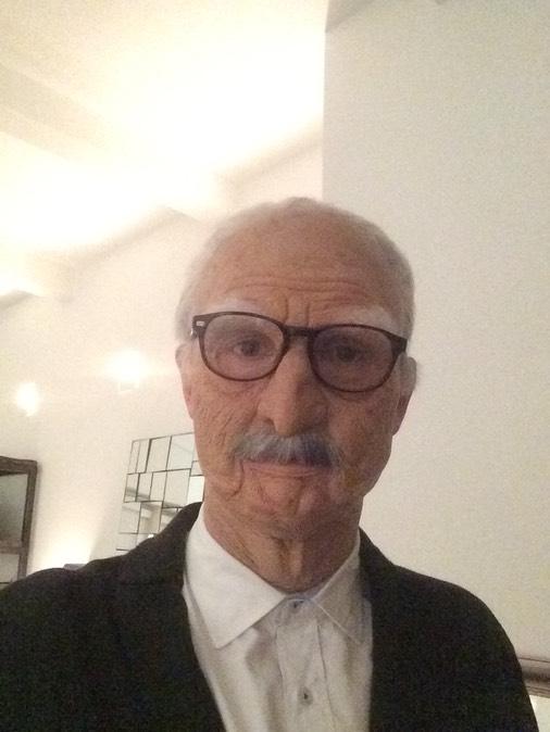 Assured, what beauty senior old grandpa